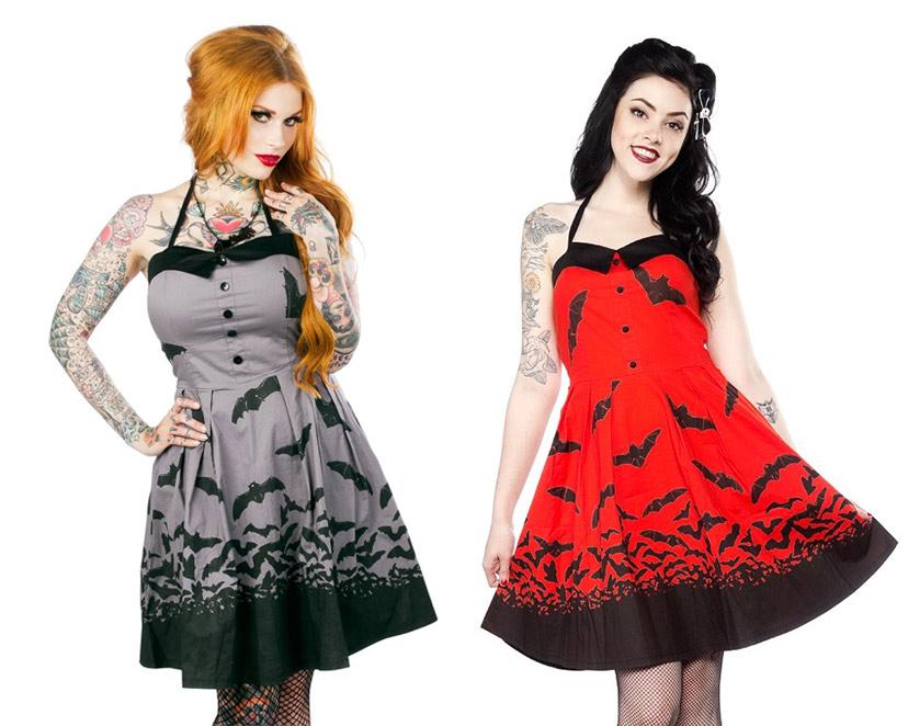 Spooksville Bats Dress