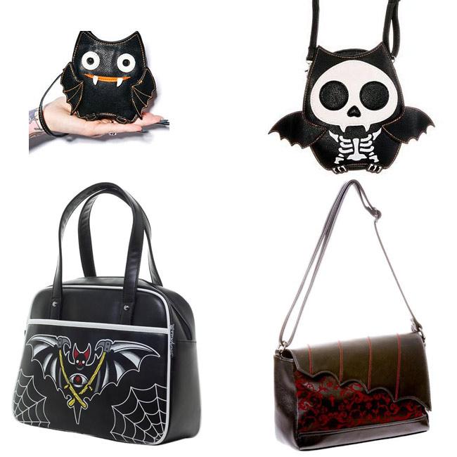 Bat Themed Bags