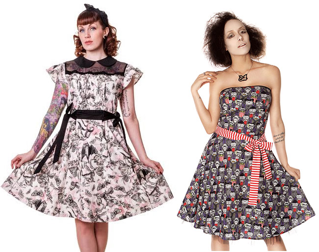 Feminine Details with a Gothic Twist