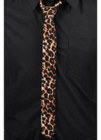 Leopard Skinny Tie by Tripp NYC