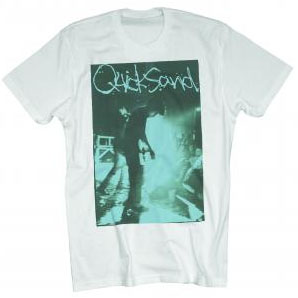 Quicksand- Live Pic on a white ringspun cotton shirt