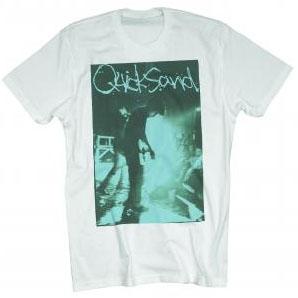 Quicksand- Live Pic on a white ringspun cotton shirt