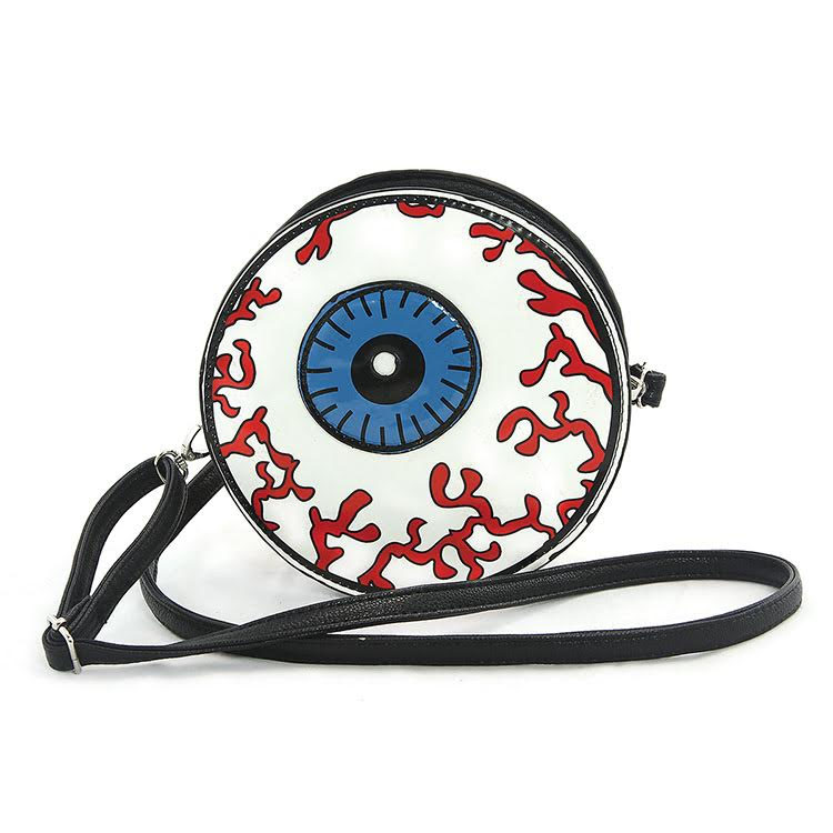 Sleepyville Eyeball Shoulder / Crossbody Bag