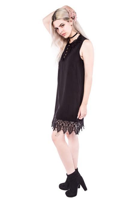 Waits Mini Dress by Iron Fist - Villains - SALE sz XS only