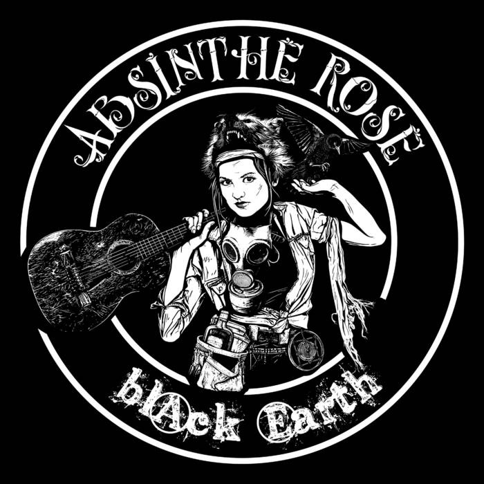 Absinthe Rose- Black Earth LP (Pink Vinyl)