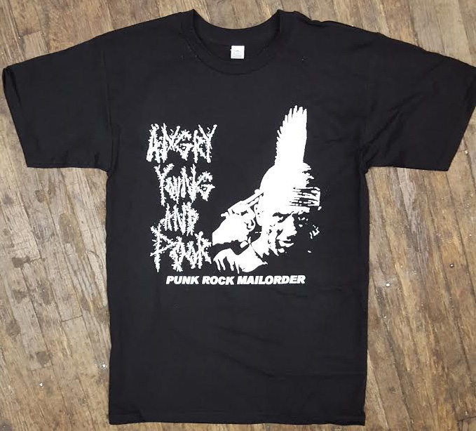 Angry Young And Poor- Gun To Head (Deer Hunter) on a black shirt