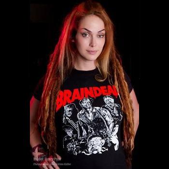 Braindead- Dead Alive on a black shirt