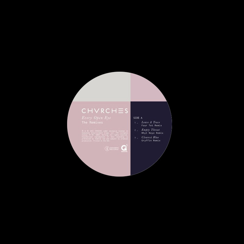 "Chvrches- Every Open Eye (The Remixes) 12"" (Record Store Day 2016 Release) (Sale price!)"