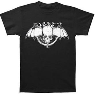 Damned- Bat Logo on black shirt (Sale price!)