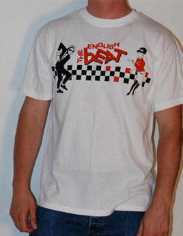 English Beat- Skaboom on a white shirt (Sale price!)