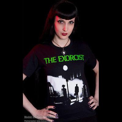 Exorcist- Streetlight on a black shirt