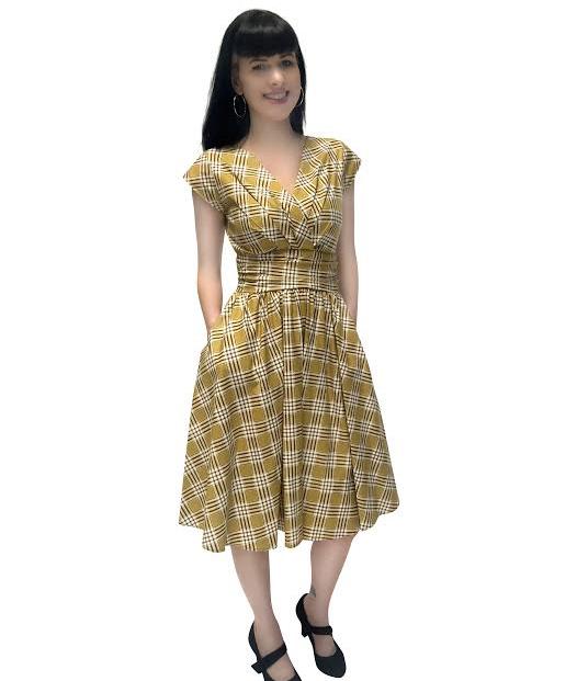 Nostalgia Dress by Folter - SALE sz XL & 4X only