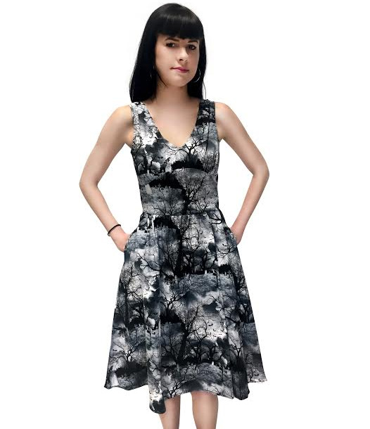 Cemetery Dress by Folter - SALE sz XS & L only