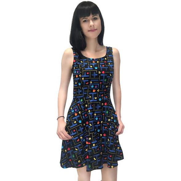 Catch Me If You Can Pac Man Dress by Folter - SALE sz XS only