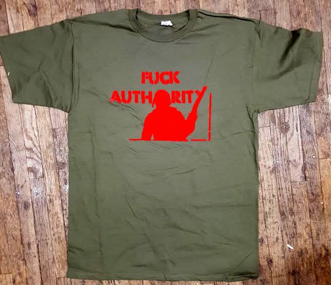 80c19ea4d Fuck Authority shirt. »