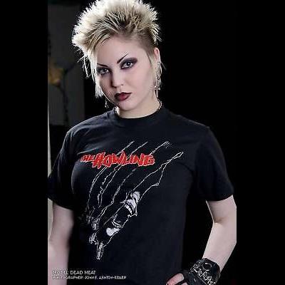 Howling- Rip on a black shirt