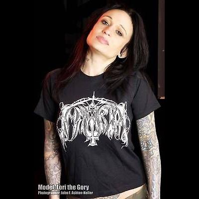 Immortal- Logo on a black shirt (Sale price!)