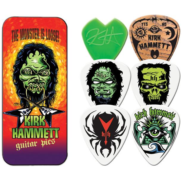 Kirk Hammet- Monster Guitar Picks In Collectors Tin (Metallica)