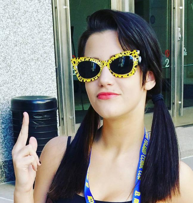 Spotted Yellow Leopard 3D Sunglasses by Lindsay Lowe Eye Wear - SALE