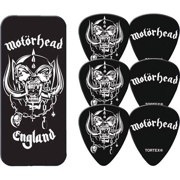 Motorhead- England Guitar Picks In Collectors Tin