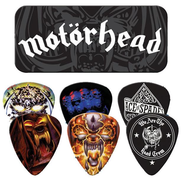 Motorhead- Motorhead Guitar Picks In Collectors Tin