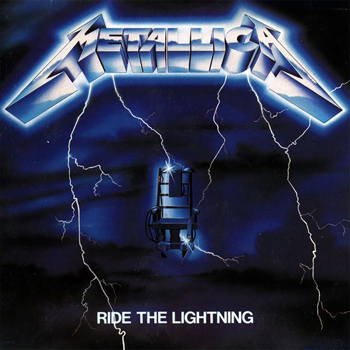 Metallica- Ride The Lightning LP (180gram Vinyl)
