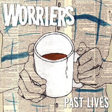 """Worriers- Past Lives 7"""" (1st Pressing, Color Vinyl)"""