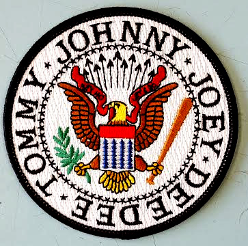 Ramones- Presidential Seal (Round) embroidered patch