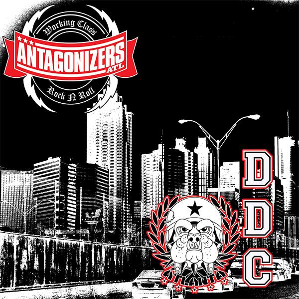 "Antagonizers ATL / DDC- Split 7"" (Red & Black Splatter Vinyl)"