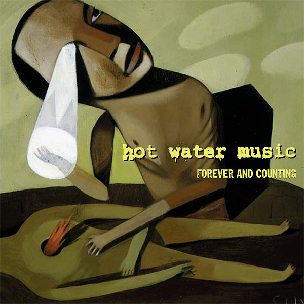 Hot Water Music- Forever And Counting LP (Ltd Ed Black/Gold Vinyl)