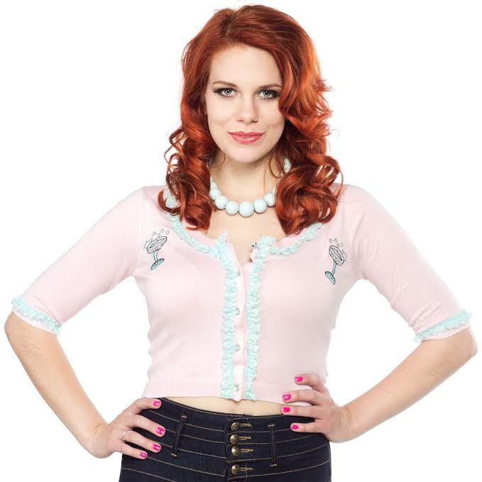 Bella Toast of the Town Cardigan by Sourpuss - SALE