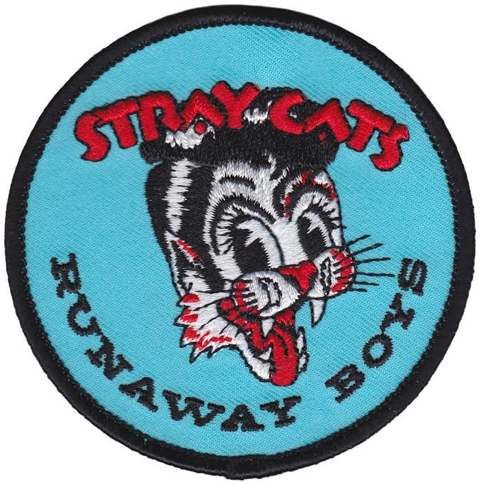 Stray Cats- Runaway Boys embroidered patch by Sourpuss (ep558)