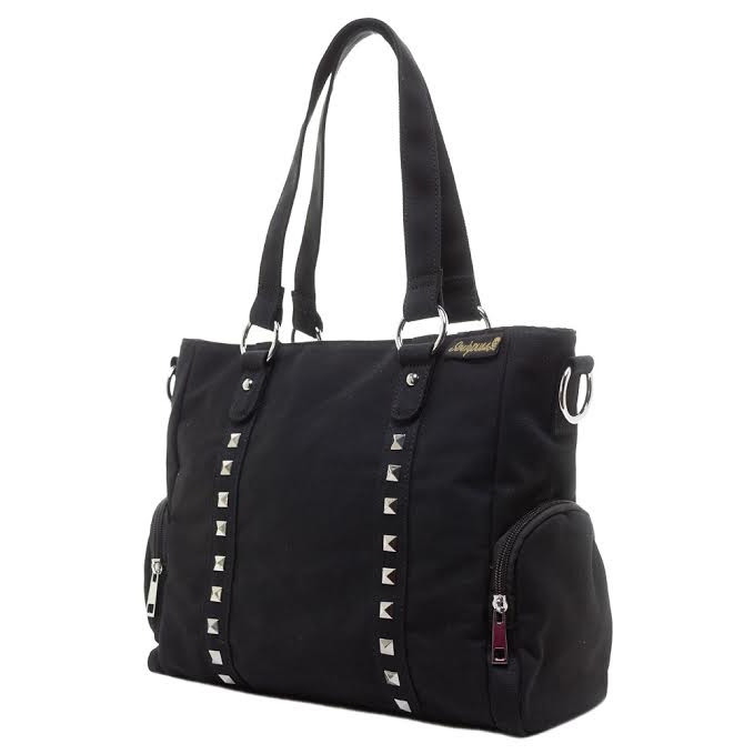 Leda Studded Tote Bag / Purse by Sourpuss