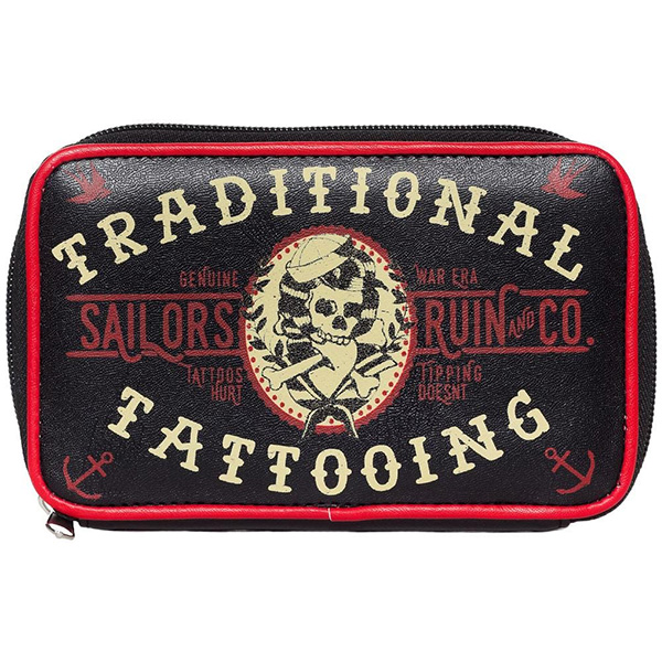 Sailors Ruin Sideshow Clutch Wallet by Sourpuss