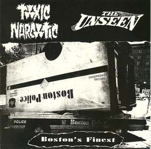 """Toxic Narcotic / Unseen- Split 7"""""""