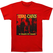 Total Chaos- 17 Years Of Chaos on a red shirt (Sale price!)