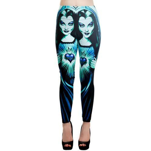 Holy Lily Lexy Leggings by Too Fast Clothing - SALE sz XL only