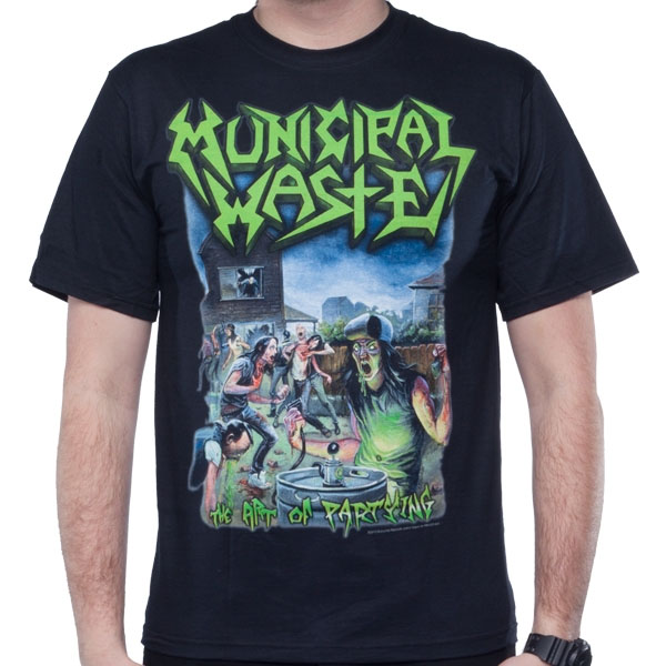 Municipal Waste- The Art Of Partying shirt