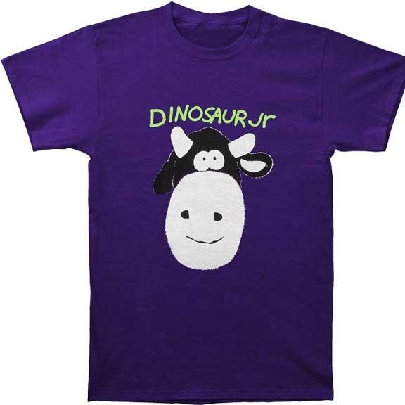 Dinosaur Jr- Cow on a purple shirt