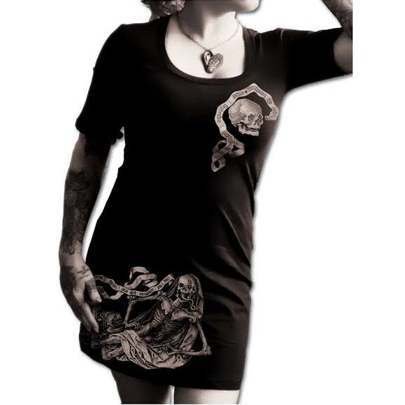 Dementor Girls T-shirt Dress by Se7en Deadly