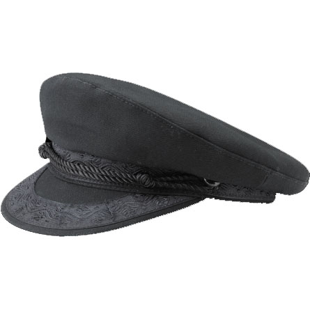Canvas Greek Hat In BLACK by New York Hat Co.