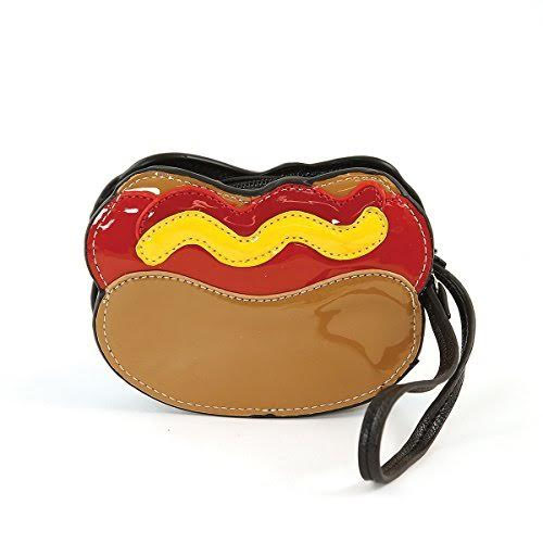 Sleepyville Critters Hotdog Zip Coin Wristlet by Comeco