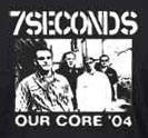 7 Seconds- Our Core 04 back patch (bp358)