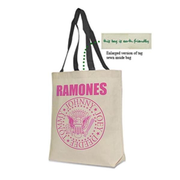 Ramones- Logo & Presidential Seal tote bag (Sale price!)