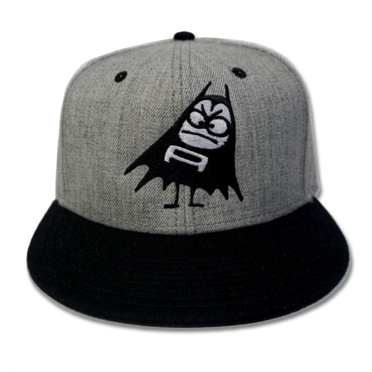 Aquabats- Bomber on a grey/black snapback baseball hat