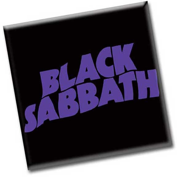 Black Sabbath- Logo magnet
