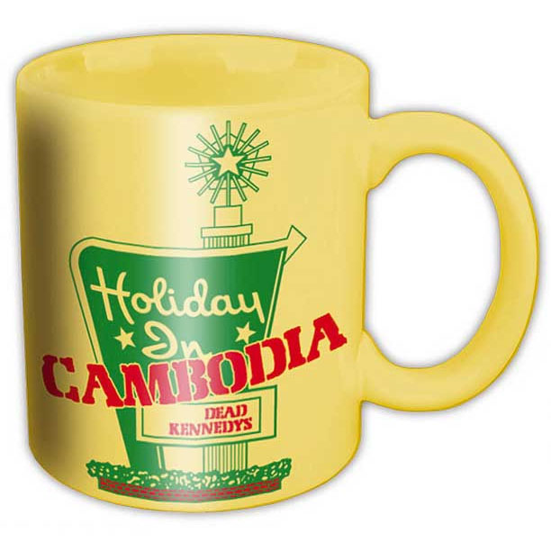 Dead Kennedys- Holiday In Cambodia coffee mug