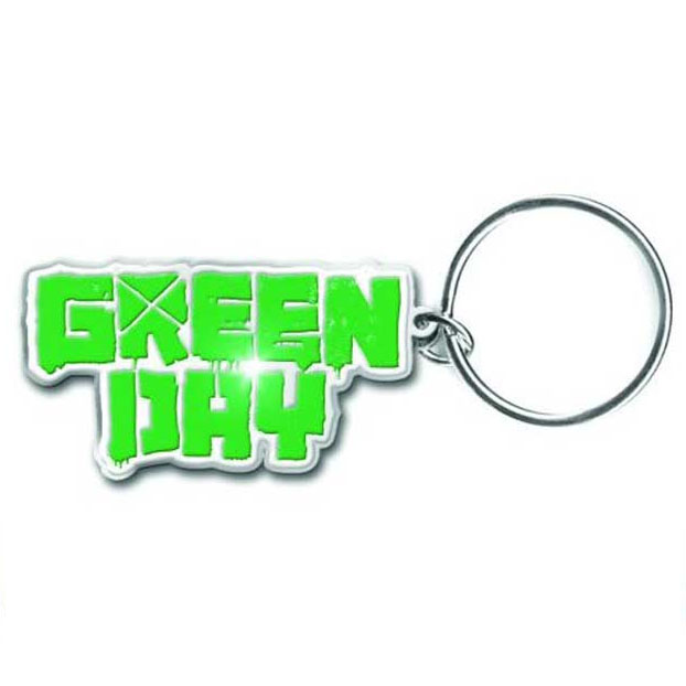 Green Day- Logo metal keychain