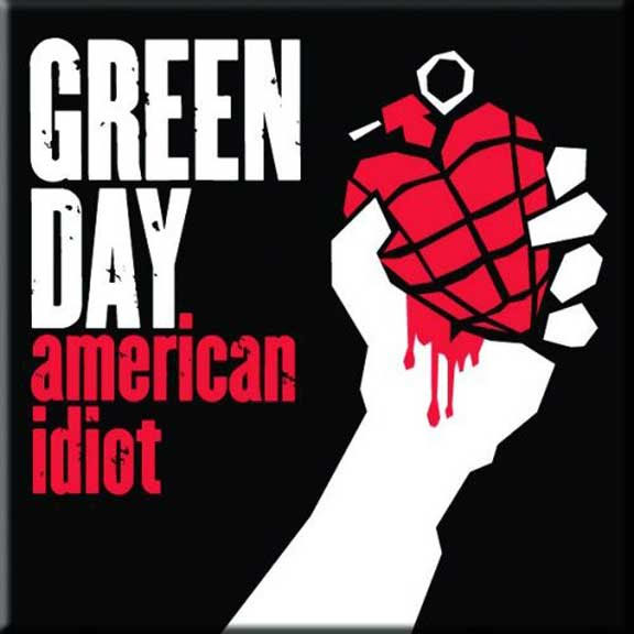 Green Day- American Idiot magnet