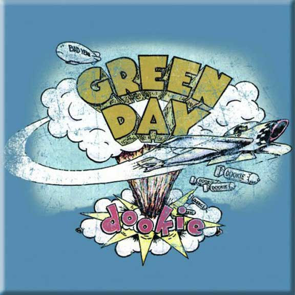 Green Day- Dookie magnet